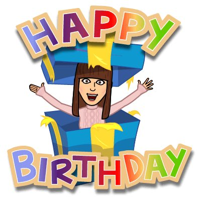 Happy Birthday to youuu!! Hope you have a great day.