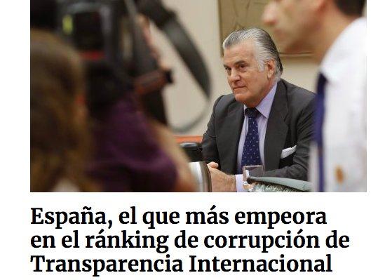 SEGUN TRANSPARENCIA INTERNACIONAL, HASTA...
