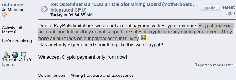 marc bevand on twitter paypal prohibits a merchant from selling