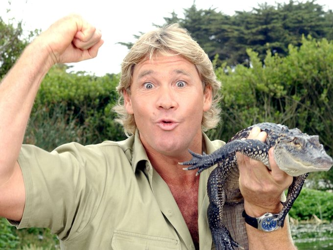 Happy Birthday to \The Crocodile Hunter\ Steve Irwin, who would have turned 56 today!