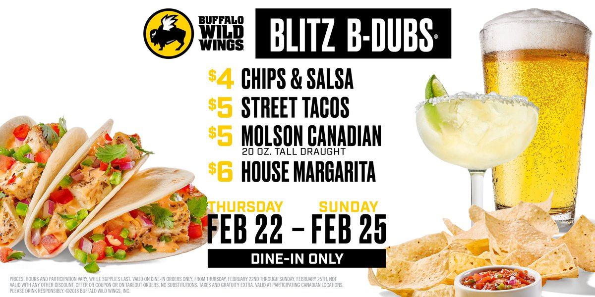 photo regarding Buffalo Wild Wings Printable Coupons called Buffalo Wild Wings (@BWWingsCanada) Twitter