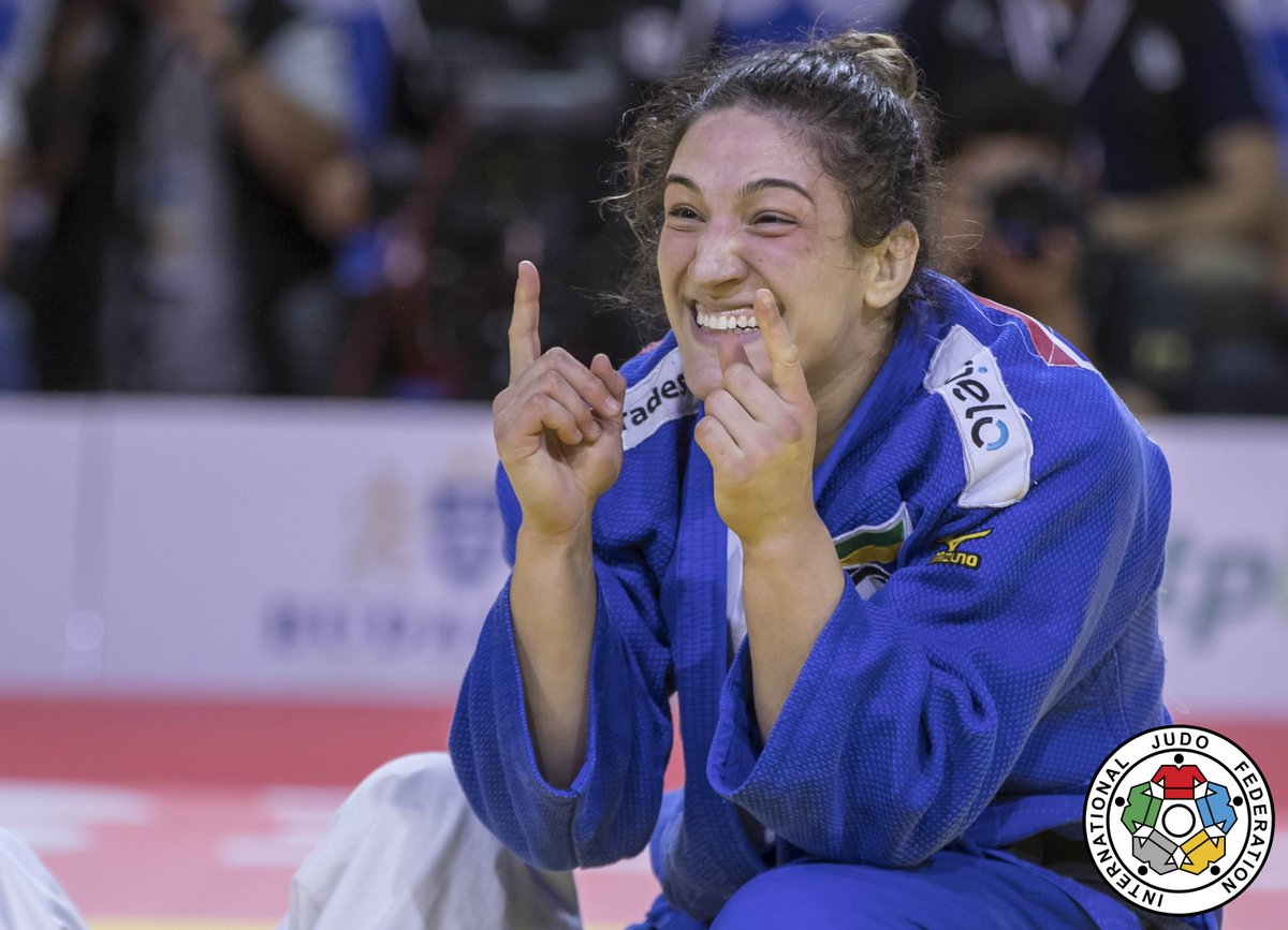 Bicampeã mundial, Mayra Aguiar é indicada ao prêmio de Melhor Atleta de 2017 pelo Comitê Olímpico do Brasil: https://t.co/otU8J01Pj2