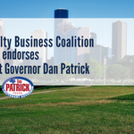"""""""Lt. Governor Patrick is a champion for the principles that HRBC holds dear — limited government, property rights, and capitalism."""" See the full press statement: https://t.co/1CFmH2TTTd"""