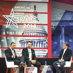 RT @dbongino: Tearing it up at #CPAC2018 https://t...