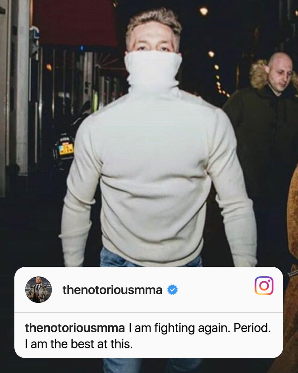Conor McGregor says he was willing to fight Frankie Edgar at UFC 222 on Saturday.