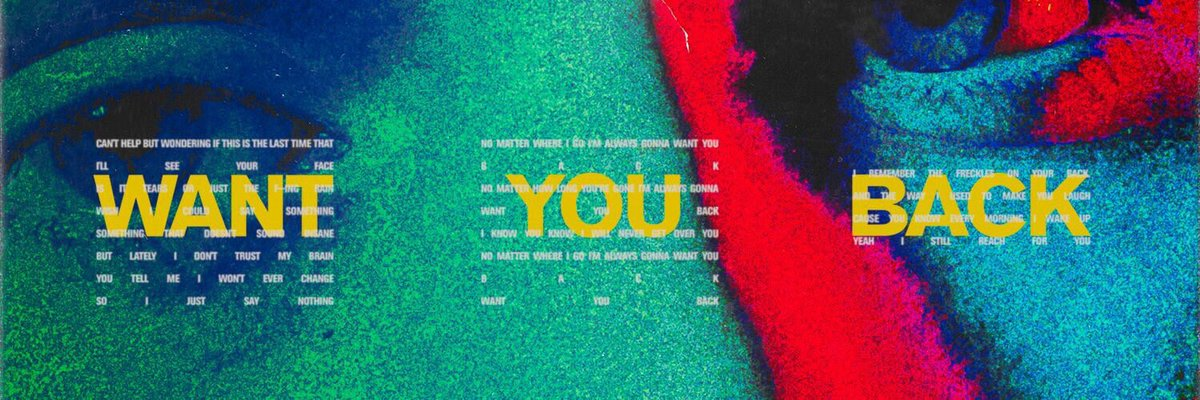 Who else is listening to #WantYouBack 🤔...
