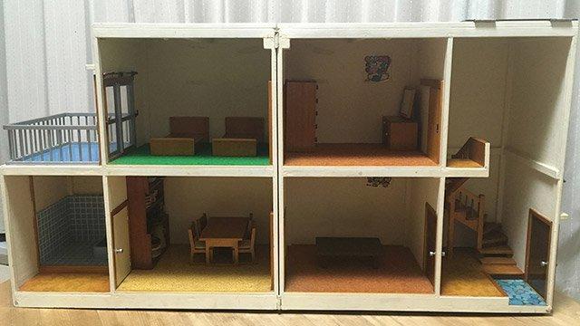 たったいま公開しました : お祖父さんが作ったドールハウスが泣けるほど昭和の住宅...