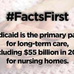 Get the #Medicaid facts! #FactsFirst