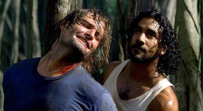 3 pic. Sayid and Sawyer's torture scene. I'm upset that this turns me on.....no i'm not😭 https://t.c