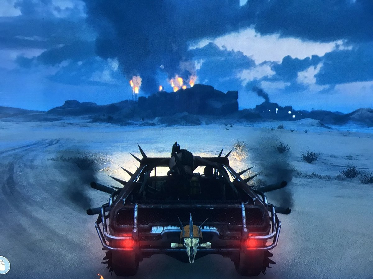 test Twitter Media - The Mad Max game gives us an uncanny look into what it's like to drive to Hamilton. https://t.co/PHN9wEky1Q