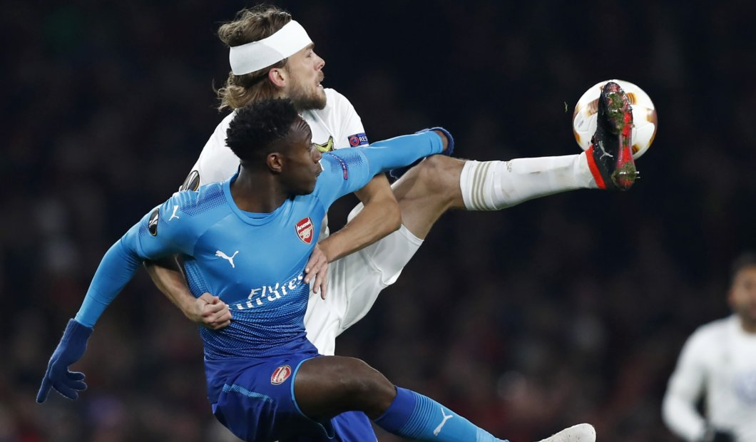 'Get him out of this club' – Fans attack Arsenal star after Thursday's Europa League match