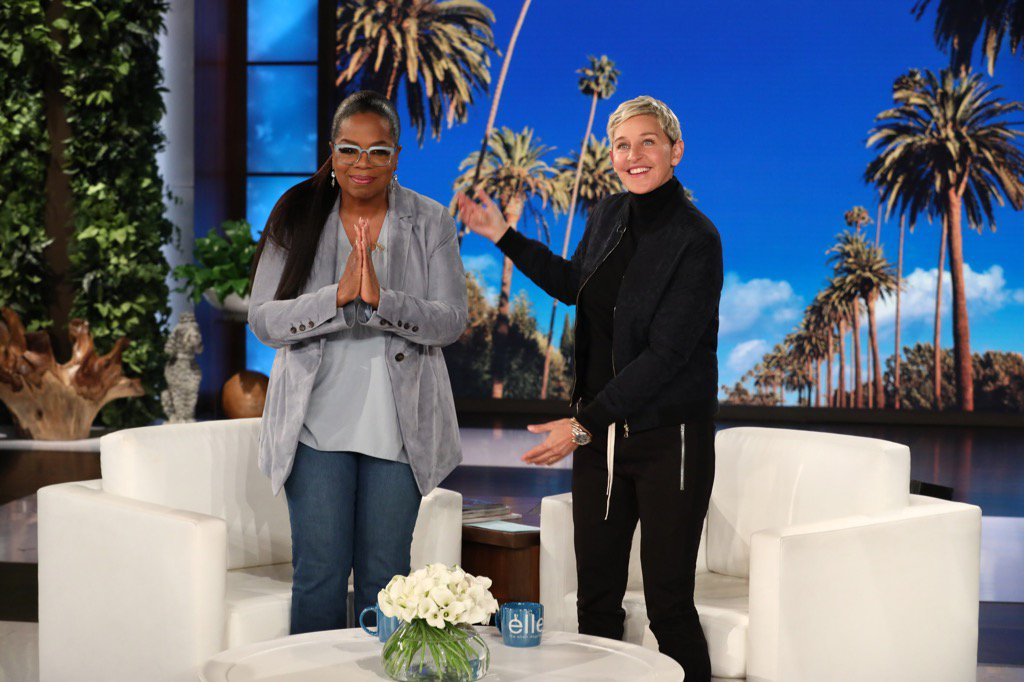 Thank you for your kind,  words @TheEllenShow. That was a hoot of a time with @RWitherspoon and @TiffanyHaddish!