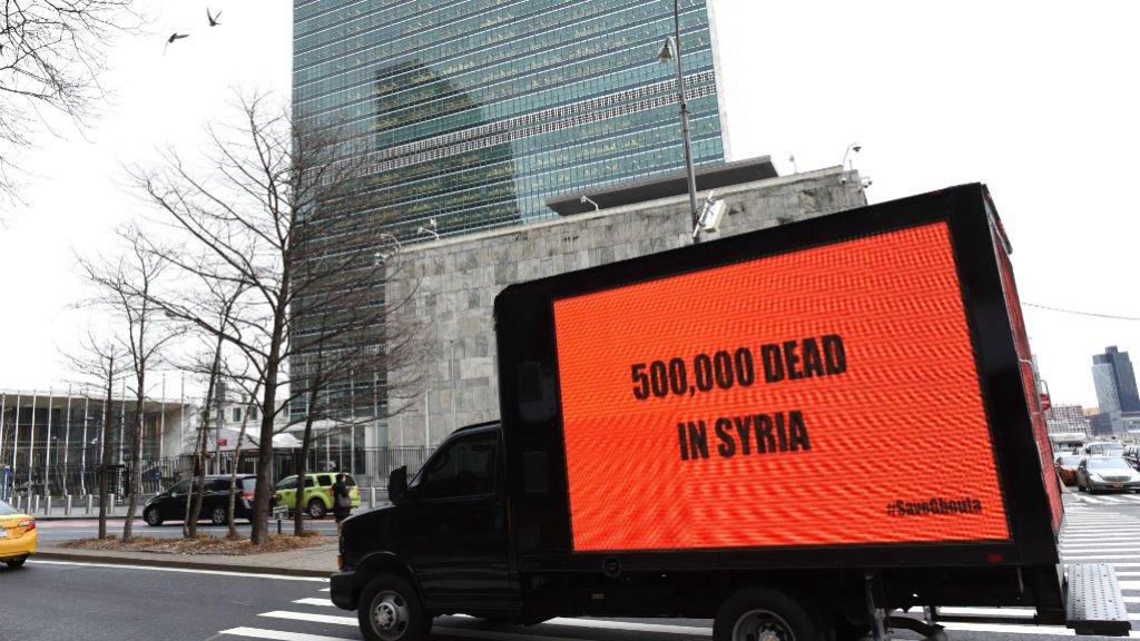 La Russie s'oppose à un cessez-le-feu humanitaire de l'ONU en Syrie https://t.co/dIYhgX2x1a