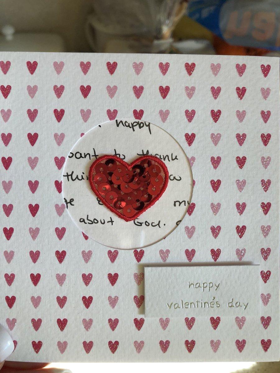 A Valentine's Day card!! Thank you so mu...