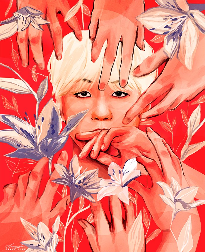 World in your hands 🌸 https://t.co/S9B1SGroS6 (by @Tracyjleeart) #BTS