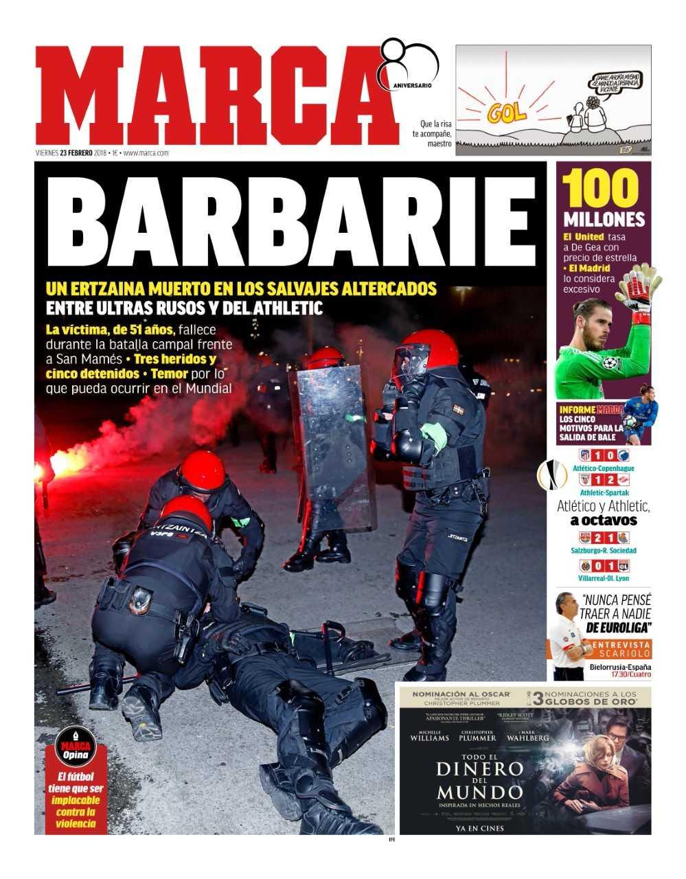#LaPortada Barbarie https://t.co/xD2he2tqfJ