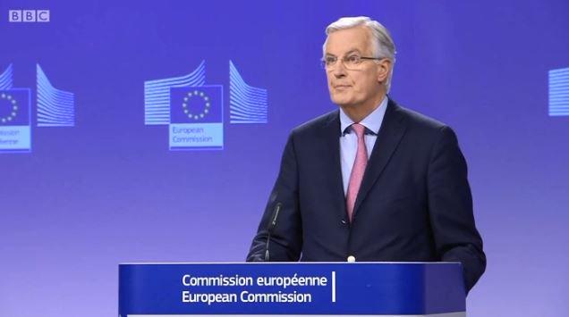 EU Brexit negotiator Michel Barnier warned that a transition period immediately after Brexit in 2019 is 'not a given' #bbcqt https://t.co/SAALNDjyKU