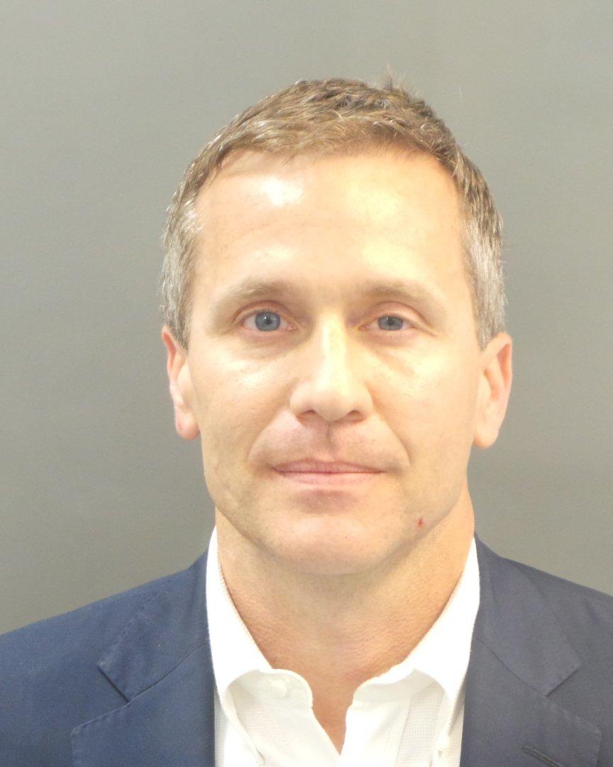JUST IN: Missouri Gov. Eric Greitens mugshot