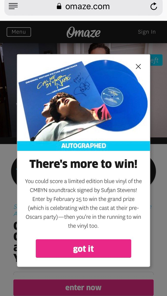 Hey guys, just a few more days to help the Trevor Project and The Foundation for the AIDS Monument. And if you donate right now you will also be entered to win this limited edition blue vinyl CMBYN soundtrack, signed by Sufjan Stevens.