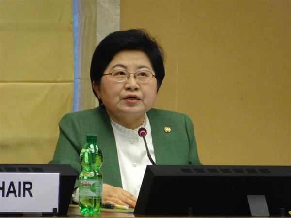 韓国閣僚が国連委員会で「性奴隷」と発言したことに「受け入れがたい」と外務省が抗議  →外務省は、慰安婦問題は日韓合意で決着済みだとして、「『性奴隷』の表現は事実に反する。使うべきではない」と主張 https://t.co/OzscnMOu9r