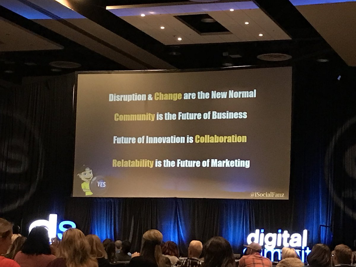 Effective marketing today can be summed up by these 4 ideas! @iSocialFanz #DSPHX <br>http://pic.twitter.com/meewiciC2d