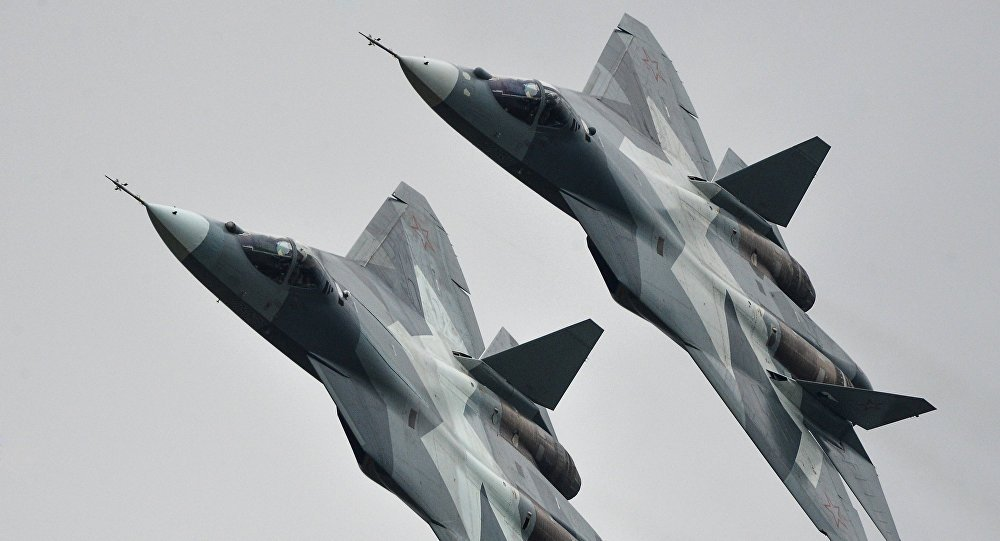 DoD: Russian Su-57 fighter jets pose no threat to coalition operations in #Syria https://t.co/E6gr4Ns1wc