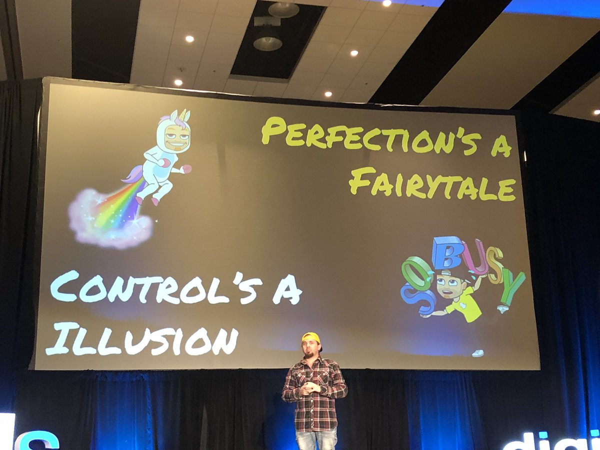 """""""Perfection is an illusion. Real people don't trust or relate to perfect. Stop focusing on perfection and control, if you're trying to be authentic, relatable and build trust. Be yourself."""" -@BrianFanzo #bereal #DSphx <br>http://pic.twitter.com/tijDuNNRgk"""