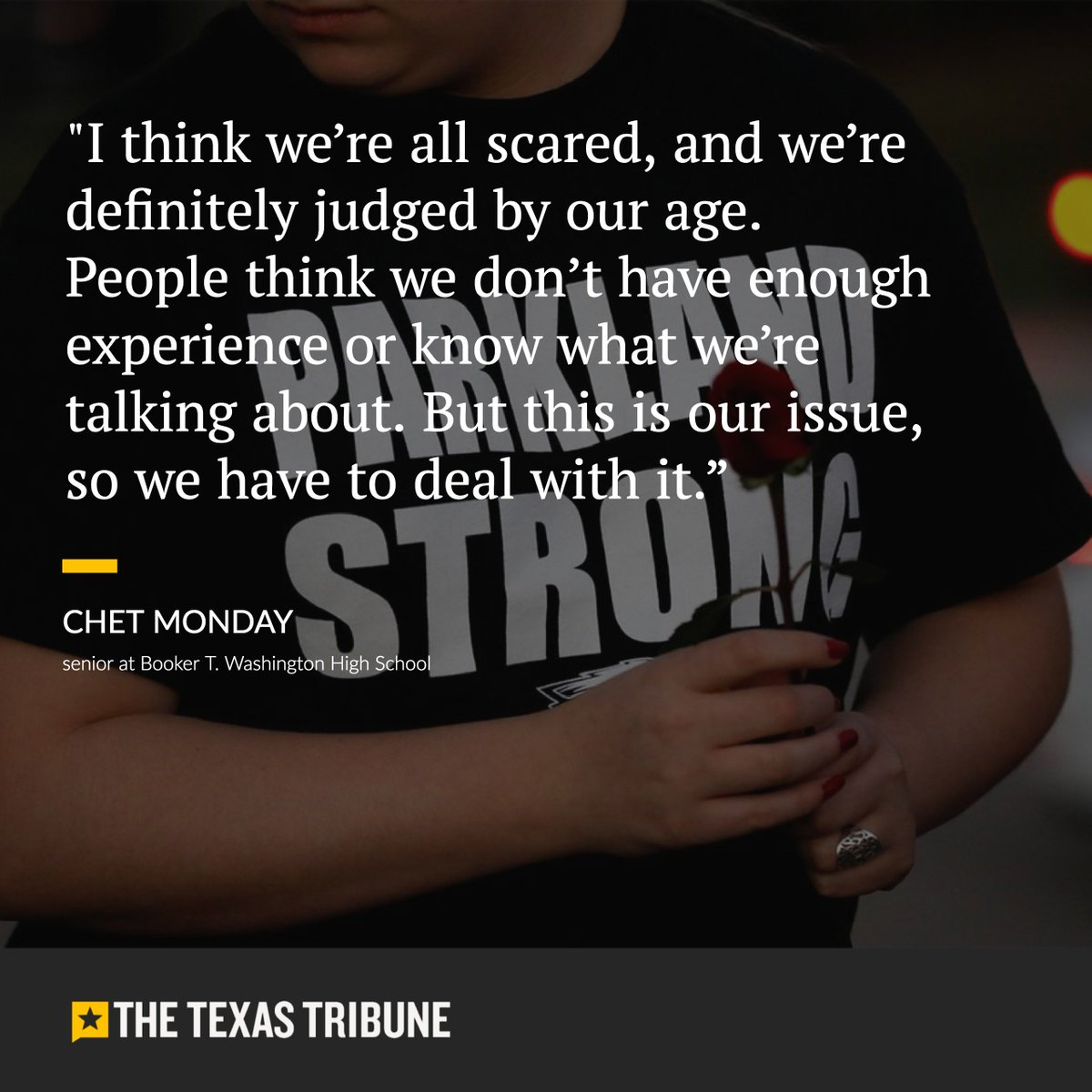 How Texas students are protesting gun violence after the Florida school shooting: https://t.co/L4mOio54LV #txlege