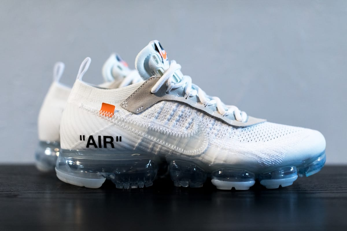536d646db8e get an upclose look at the next off white x nike air vapormax sneaker