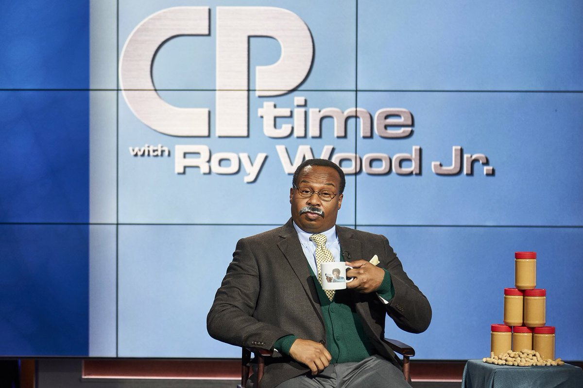 We're back tonight. New ep of CP Time. Sam Jax mug #3 @TheDailyShow.  📷:@ruminasean