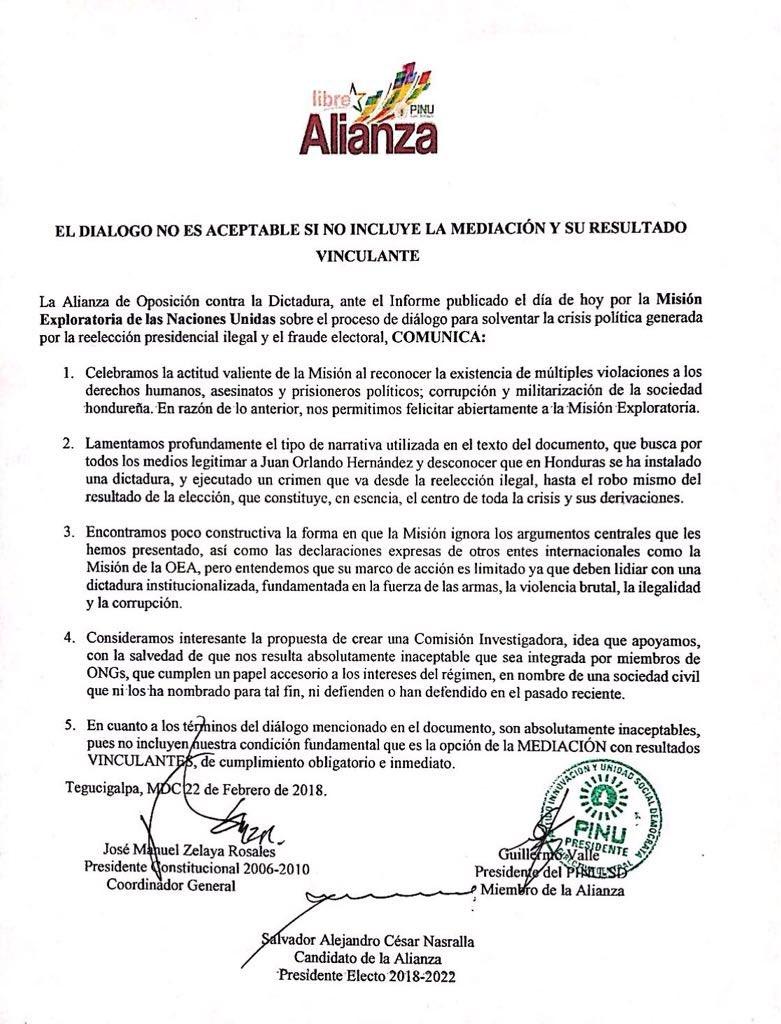 Manuel Zelaya R. on Twitter: \