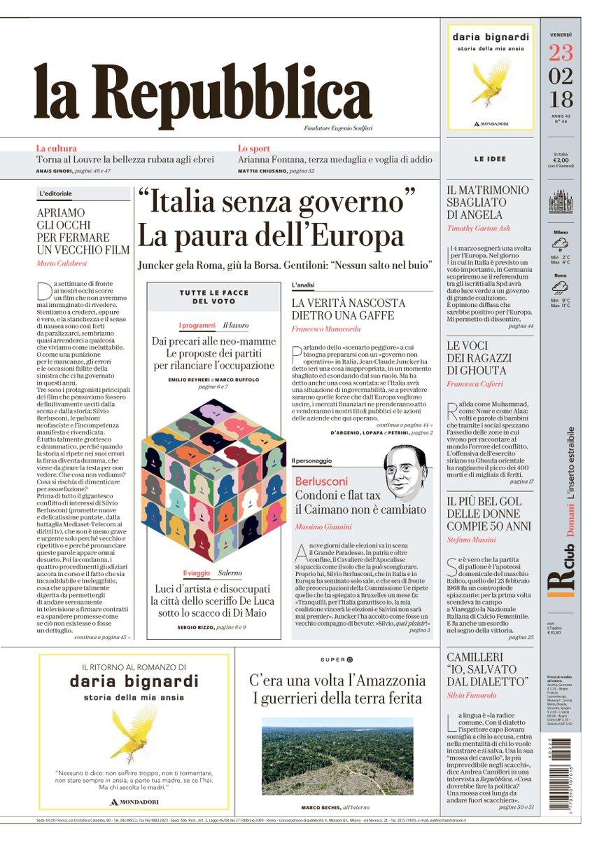'Italia senza governo' La Paura dell'Eur...