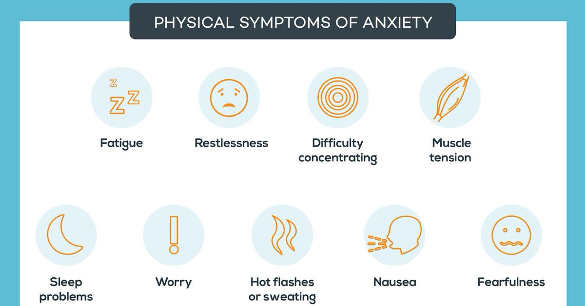 RT Constant restlessness is one of the most common symptoms of #anxiety ➡ https://t.co/gScaCz6MxZ https://t.co/x7rZaRhlg9 #health #well