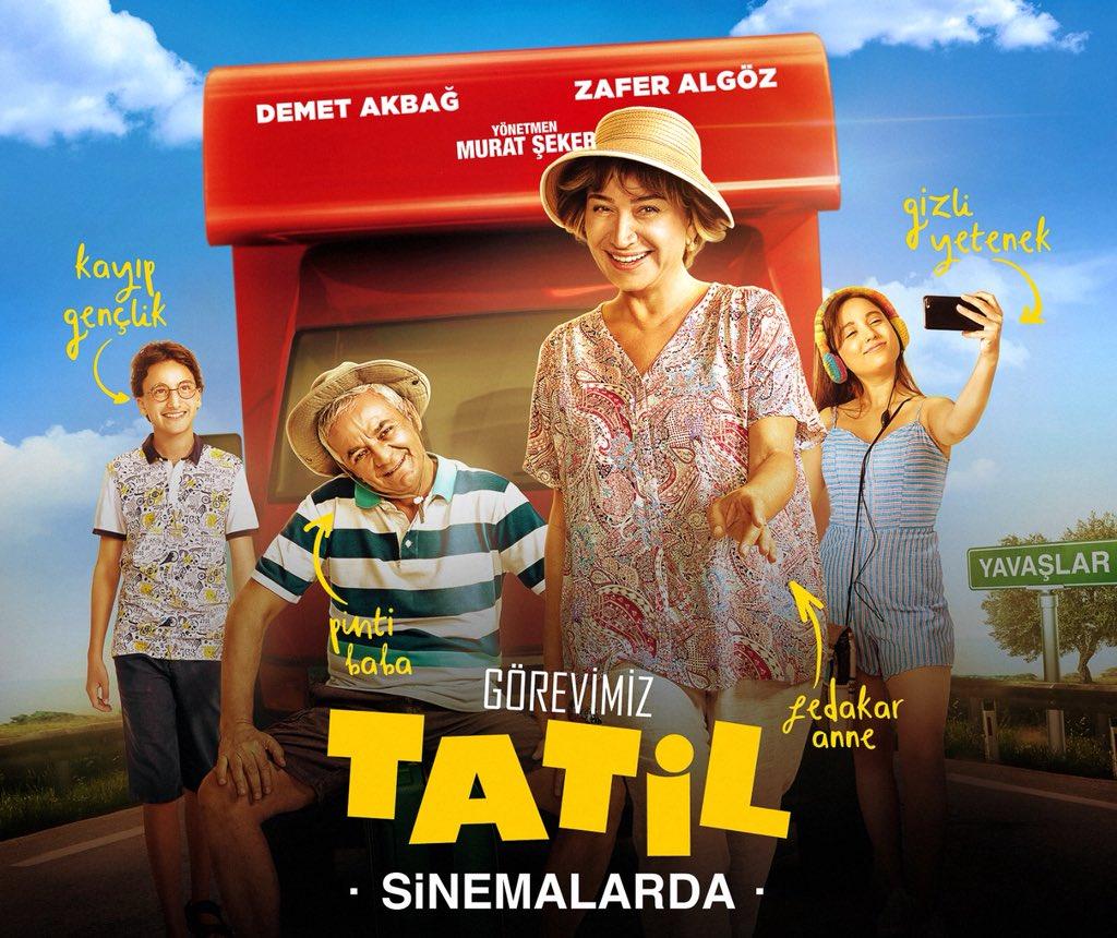 #GörevimizTatil sinemalarda! @gorevimiztatil  Cinemaximum: http://bit.ly/gtmaximum Biletinial: http://bit.ly/gtbiletinial Biletiva: http://bit.ly/gtbiletiva