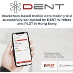 Image for the Tweet beginning: First ever Blockchain-based mobile data