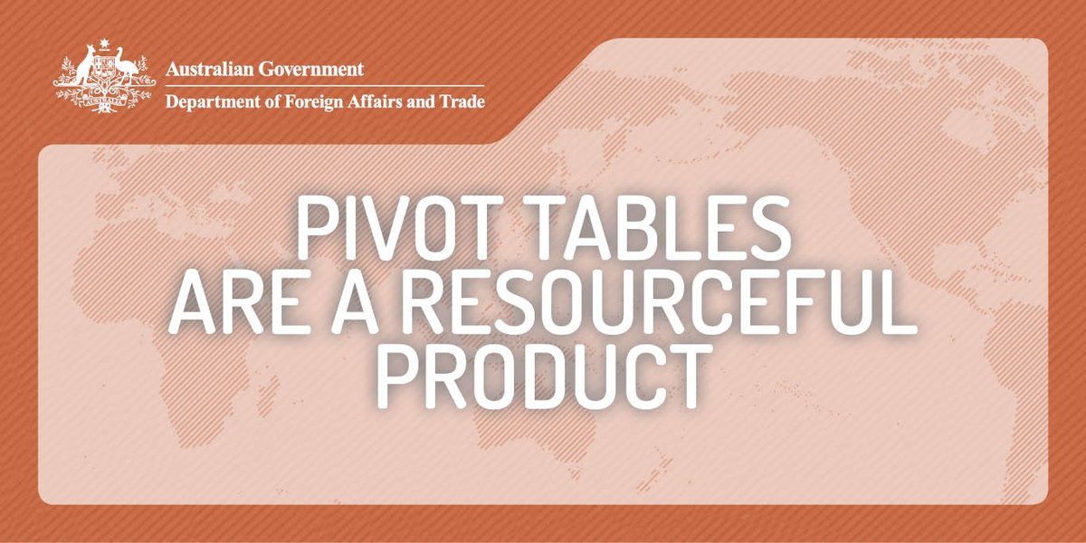 State/Territory merchandise #trade #data by commodity, country and country groups are available in Excel pivot tables dfat.gov.au/about-us/publi…