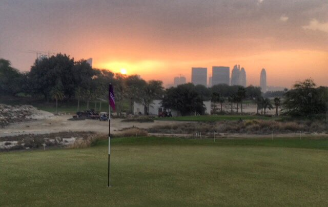Good morning from Doha 🇶🇦  Where round 2 of the #QatarMasters is underway.