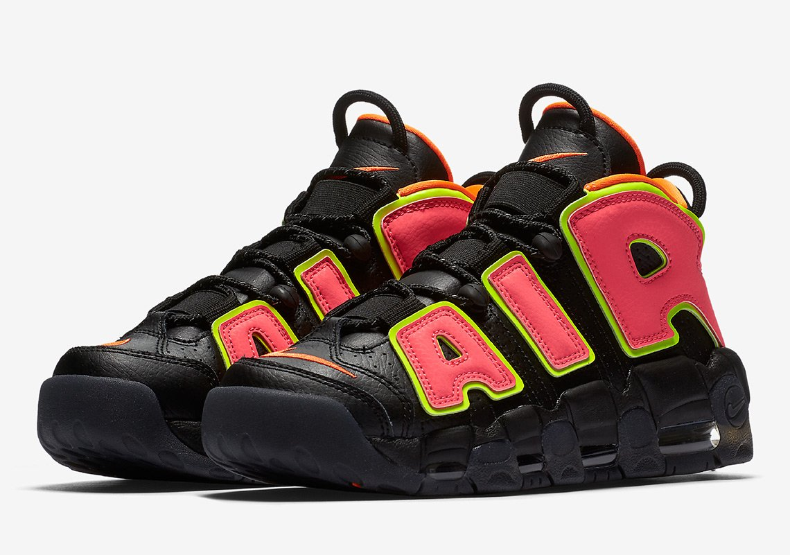Uptempos are back in a wild new colorway...
