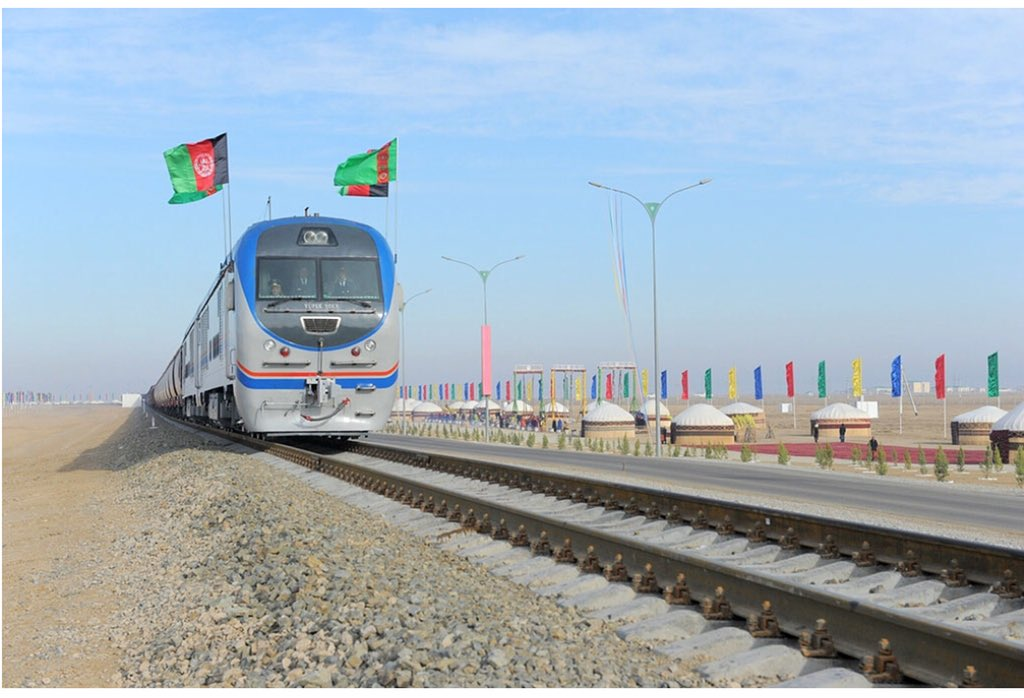 Today we stepped forward wth another pragmatic action to connect north 2 south & replace negative security rivalry wth a positive economic cooperation.Todays #TAPI, TAP500, Railway & Fiber Optic inauguration in AFG soil proves our resolve commitment to economic integrated region.