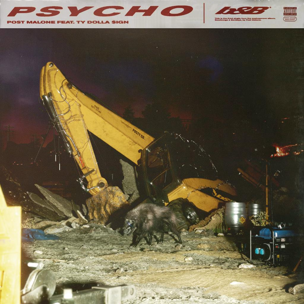 Another hit. 🔥  @PostMalone x @tydollasign  #Psycho Listen here: https://t.co/ClXT2kdQT5