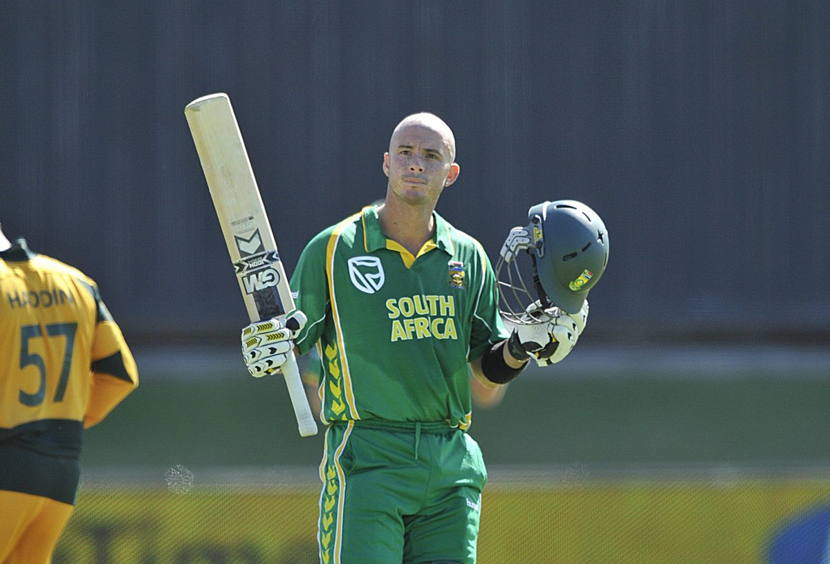 6,167 Test runs. 8094 ODI runs. Six stunning sixes in an over at @cricketworldcup 2007.  Happy Birthday to South Africa's @hershybru!