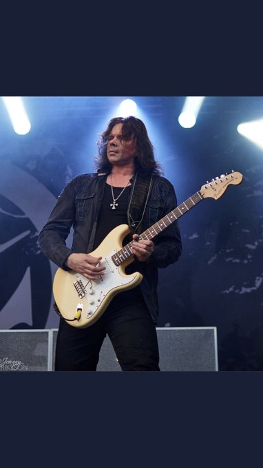 Happy birthday the legendary guitarist John Norum