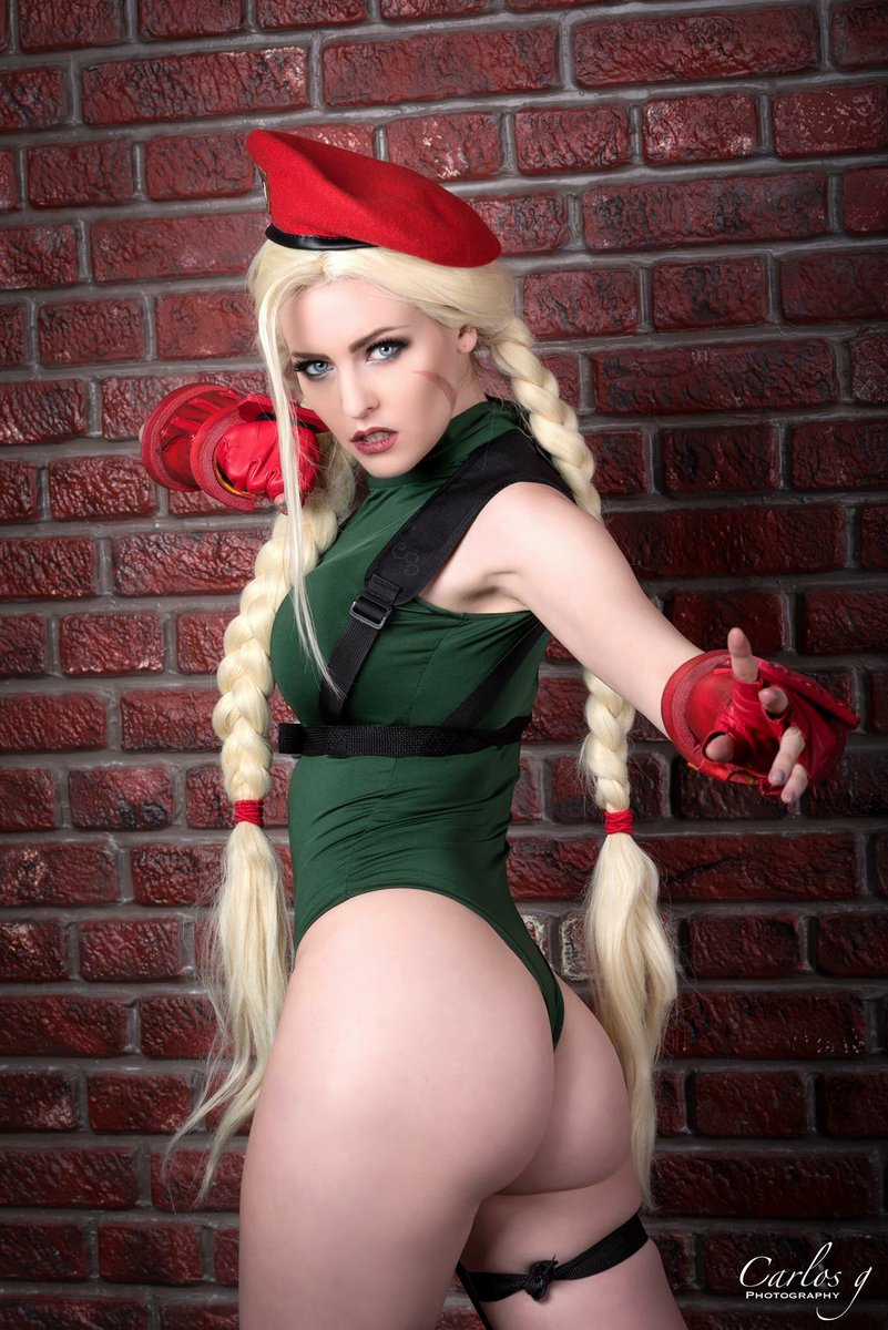 For Street fighter cammy cosplay ass there can