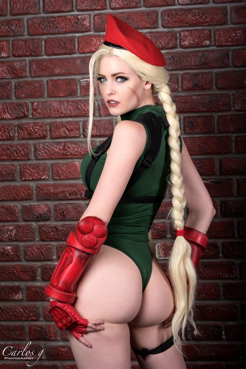 Think, that Street fighter cammy cosplay ass