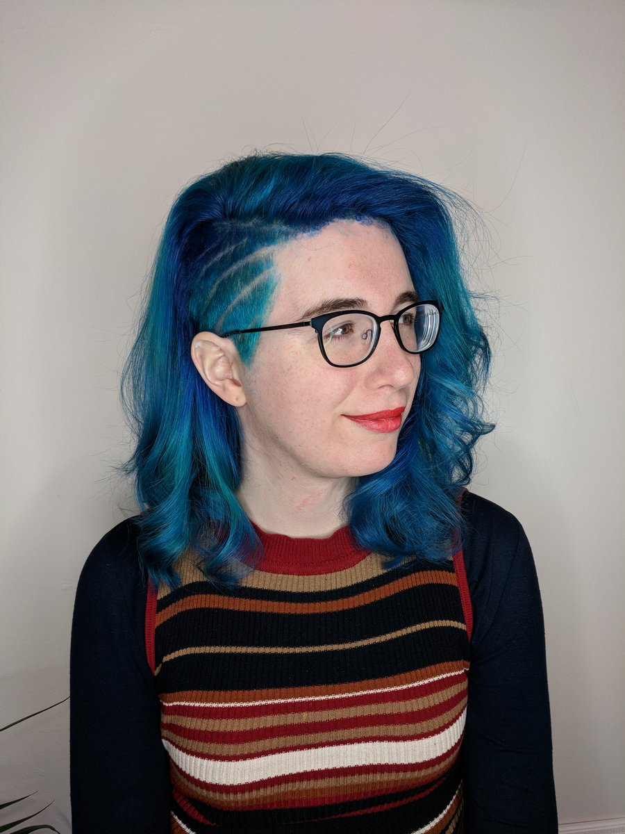 Blue Slay Carmen San Diego On Twitter So I Got A Haircut