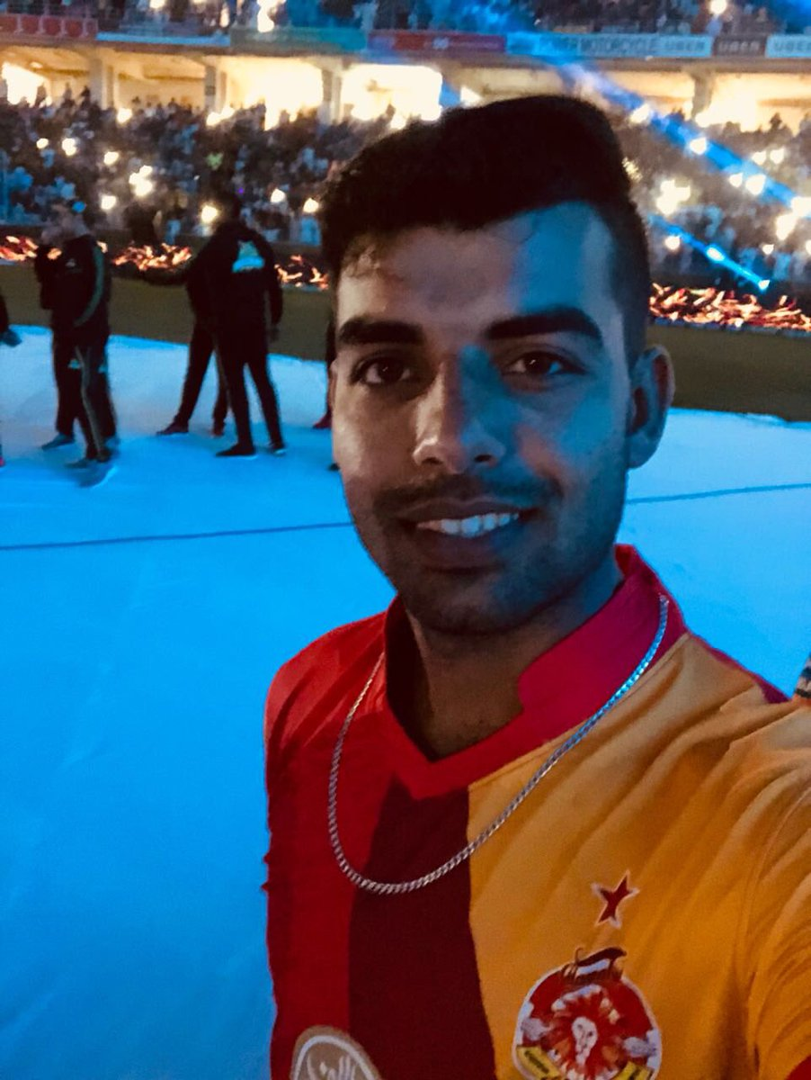 Had a great time at @thePSLt20's opening...