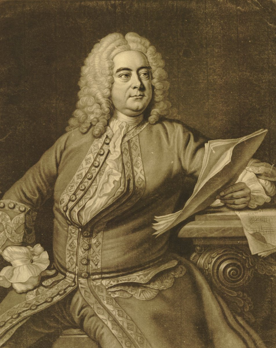 Composer George Frederick Handel was born #onthisday in 1685. Handel lived next door to rock guitarist Jimi Hendrix (albeit separated by over 200 years). What would they have made of each other? 🤔🎼🎸🎹