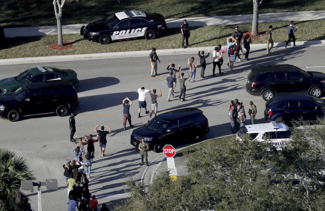Sheriff: Armed officer at Florida school stood outside building and did 'nothing' during shooting https://t.co/XIoJdvrNV9