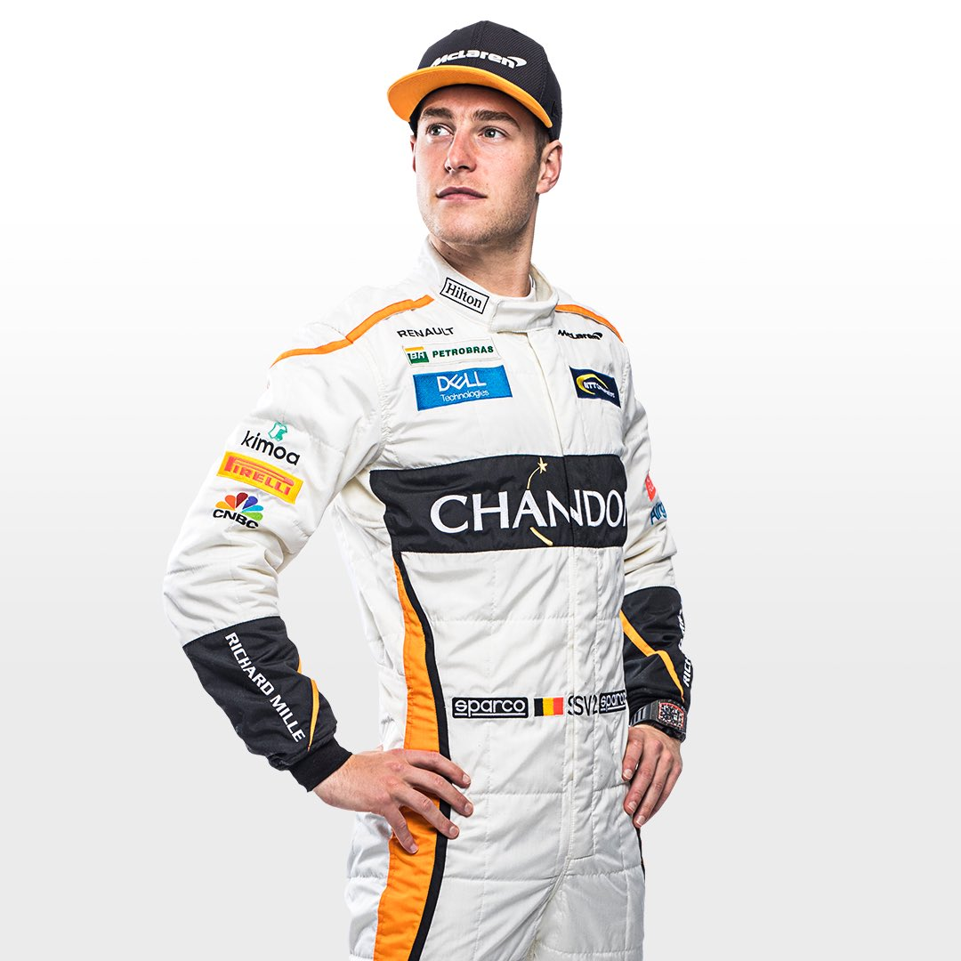 Stoffel in new overalls