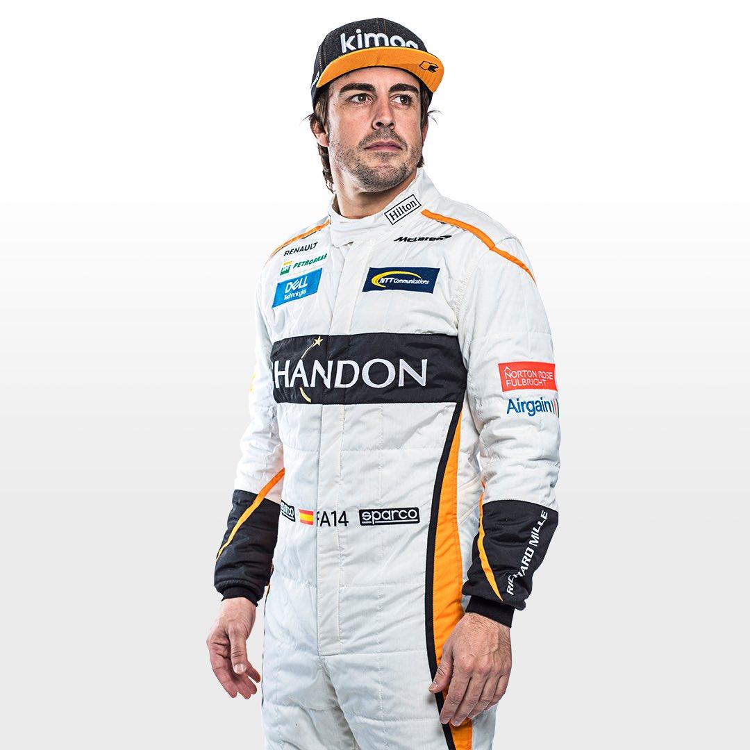 Fernando in new overalls